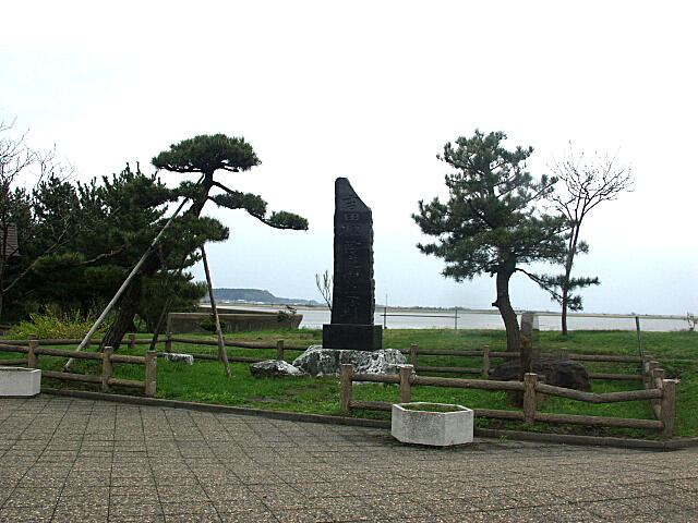 吉田松陰遊行碑