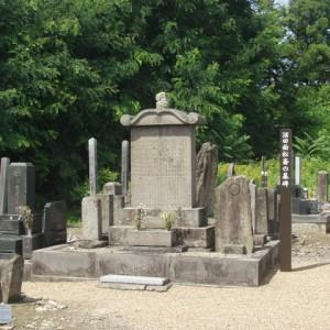 沼田面松斎の墓