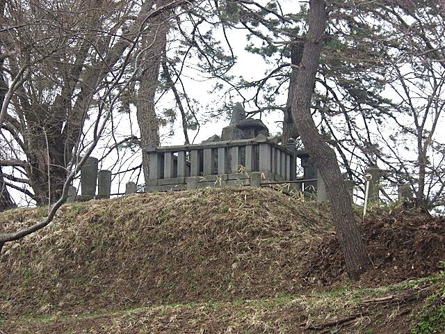 金光上人の墓
