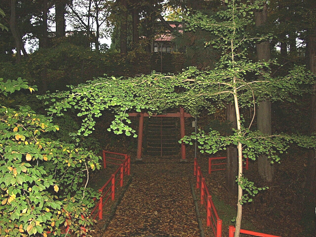 石名坂館跡