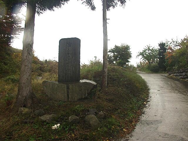 浅瀬石城跡