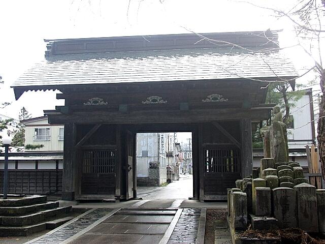 青岩寺山門