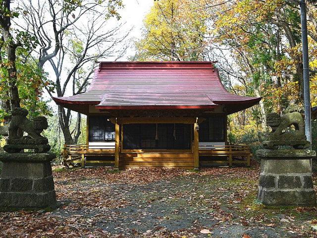 戸建沢神社