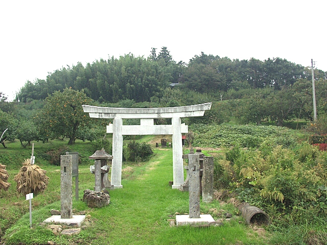 高子岡城跡