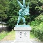 西郷四郎像