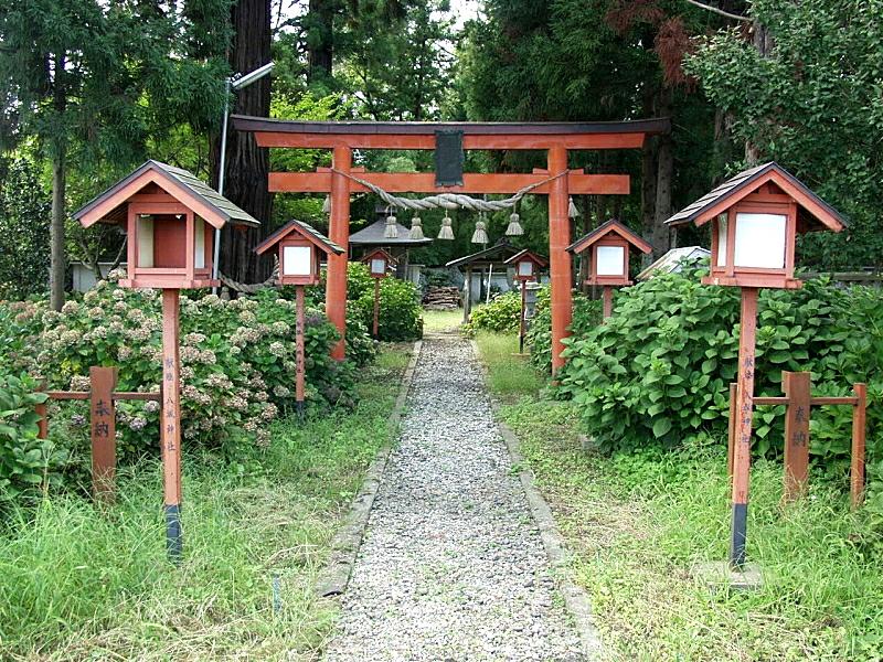 平泉八坂神社