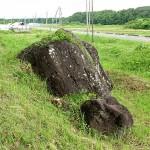 小栗山の不思議石