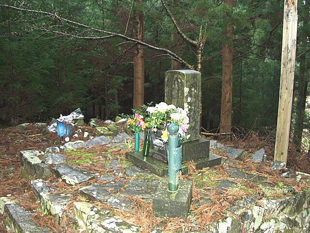 伊達小次郎の墓