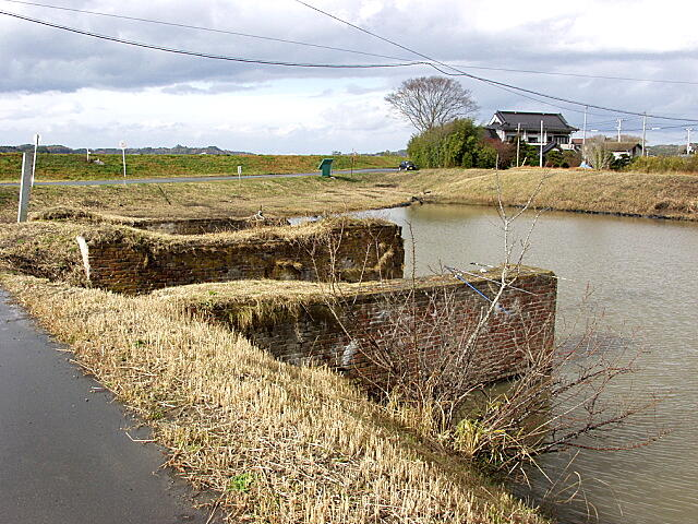 野蒜築港跡