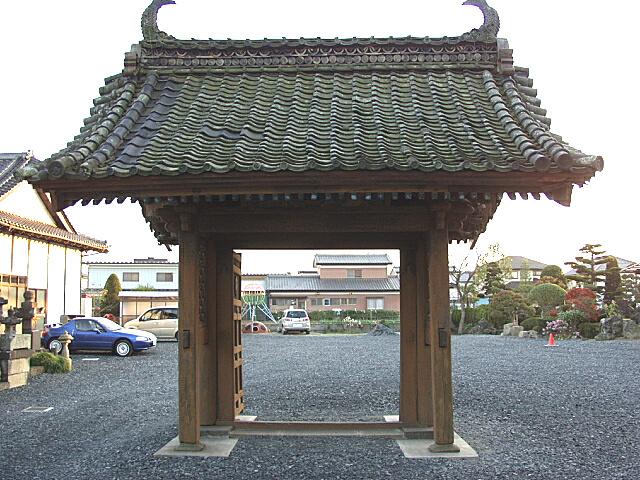 伊達忠宗廟門