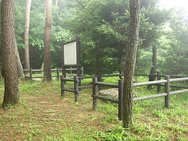 原田甲斐母の墓