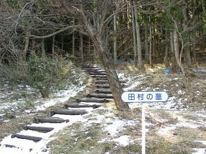 田村清顕の墓