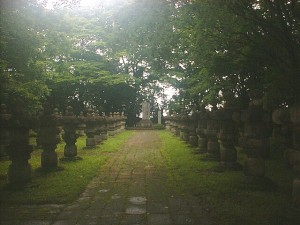 伊達家墓所