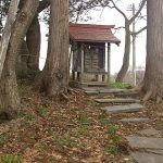 ひっそりと眠る長慶天皇妃…菊代姫の墓