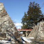 圧倒的な高石垣…盛岡城址