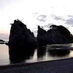 厳寒の日の出…浄土ヶ浜