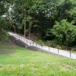 藩政期二の丸への通勤路…扇坂