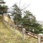 """<span class=""""title"""">南部の津軽支配拠点の城、石川城</span>"""