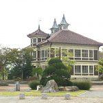 かつての活気が伺える、旧亀岡邸