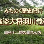みちのく歴史紀行、強盗大将羽川義稙、由利十二頭の暴れん坊
